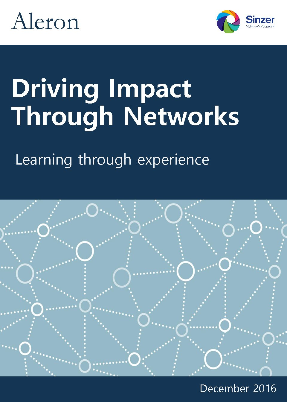 Driving Impact Through Networks – Briefing Paper